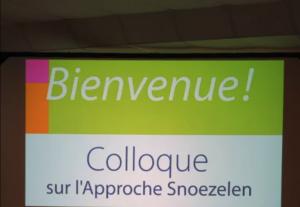 Colloque Snoezelen